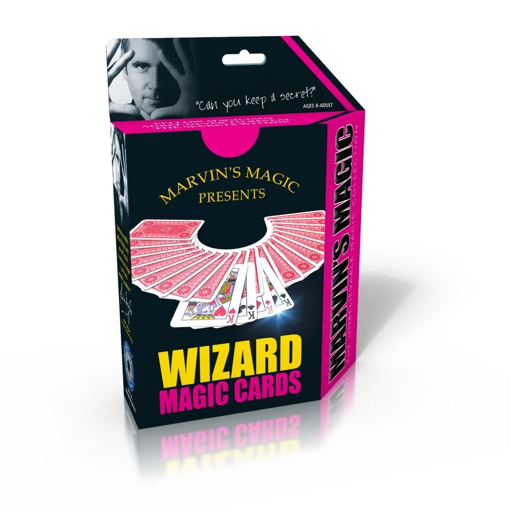 marvins magic wizard magic card tricks have fun with these