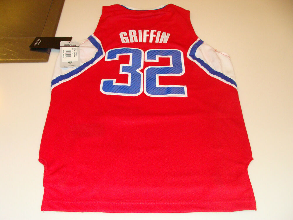6a08c7211bc adidas Los Angeles Clippers Blake Griffin Youth L Revolution 30 Swingman  Jersey