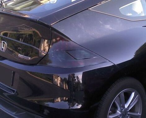 Precut Vinyl Tint Smoke Overlays For 2011 2014 Cr Z Crz