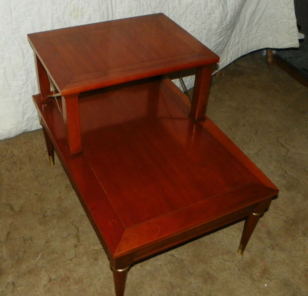 Cherry Step End Table Or Side Table By Brandt Rp T210