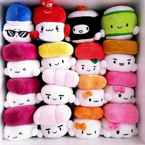 Japanese Plush Toys : Sushi plush pillow quot cushion doll toy japanese food gift