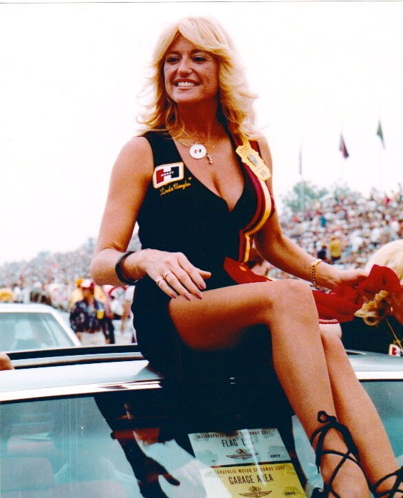 Vintage drag racing girls