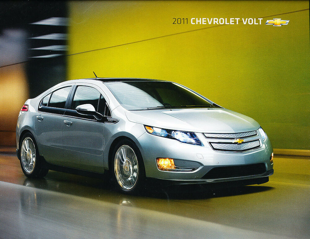2011 Chevrolet Volt Electric Car 28-page Original Sales ...