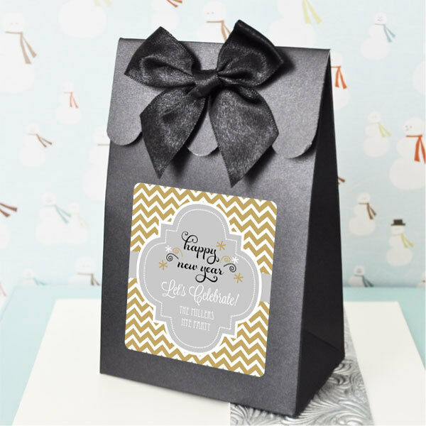 Personalized Wedding Favor Bags And Boxes : 24 Personalized Winter Wedding Candy Boxes Bags Favors eBay