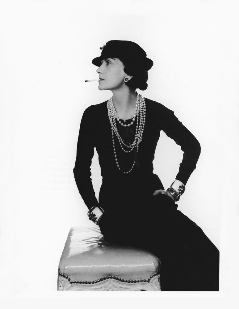 coco chanel photography by man ray 1965 surrealist photo