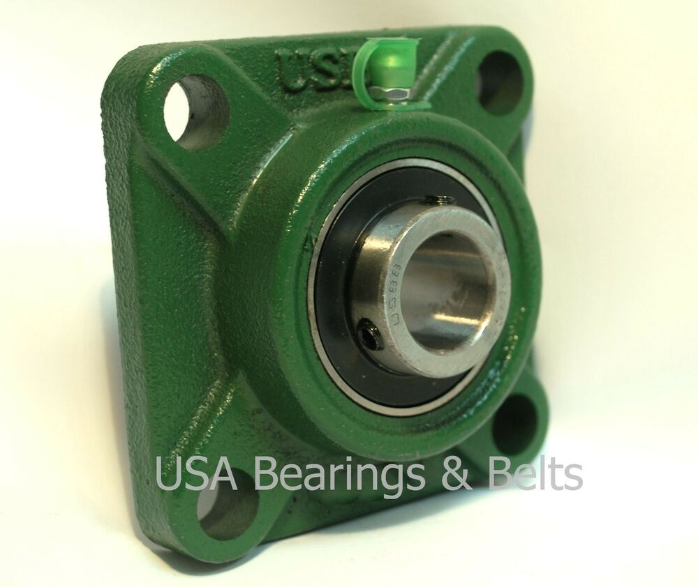 3 4 Square Bore Bearings : Quot square flange bearing unit ucf usbb