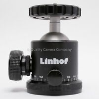 LINHOF PROFI-III BALL HEAD - 22LB/10KG LOAD RATING SUPER SOLID PRO BALL 100%