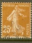 "FRANCE TIMBRE STAMP N°235 ""TYPE SEMEUSE FOND PLEIN"" OBLITERE TB"