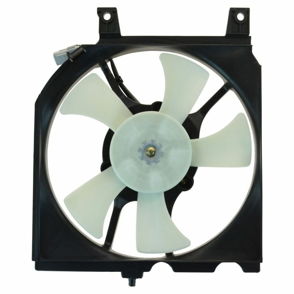Ac A C Condenser Radiator Cooling Fan Assembly W Motor