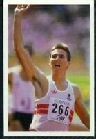 Scarce Trade Card of Roger Black, Athletics 1986
