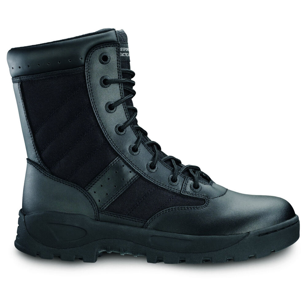 """Response Gear 8"""" Force Lace Up Tactical Police & Military ... - photo #50"""