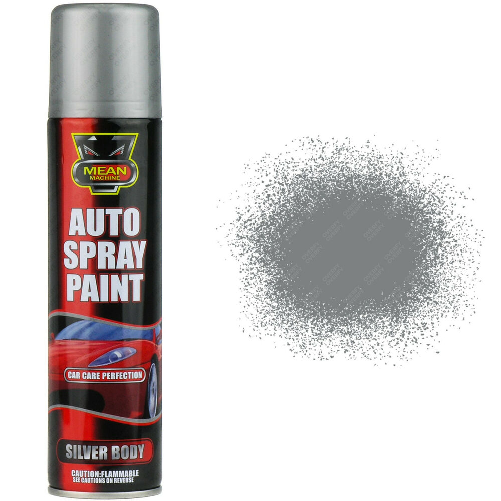 X3 Silver Body Aerosol Spray Cans 250ml Cars Vans Auto Spray Paint Ebay