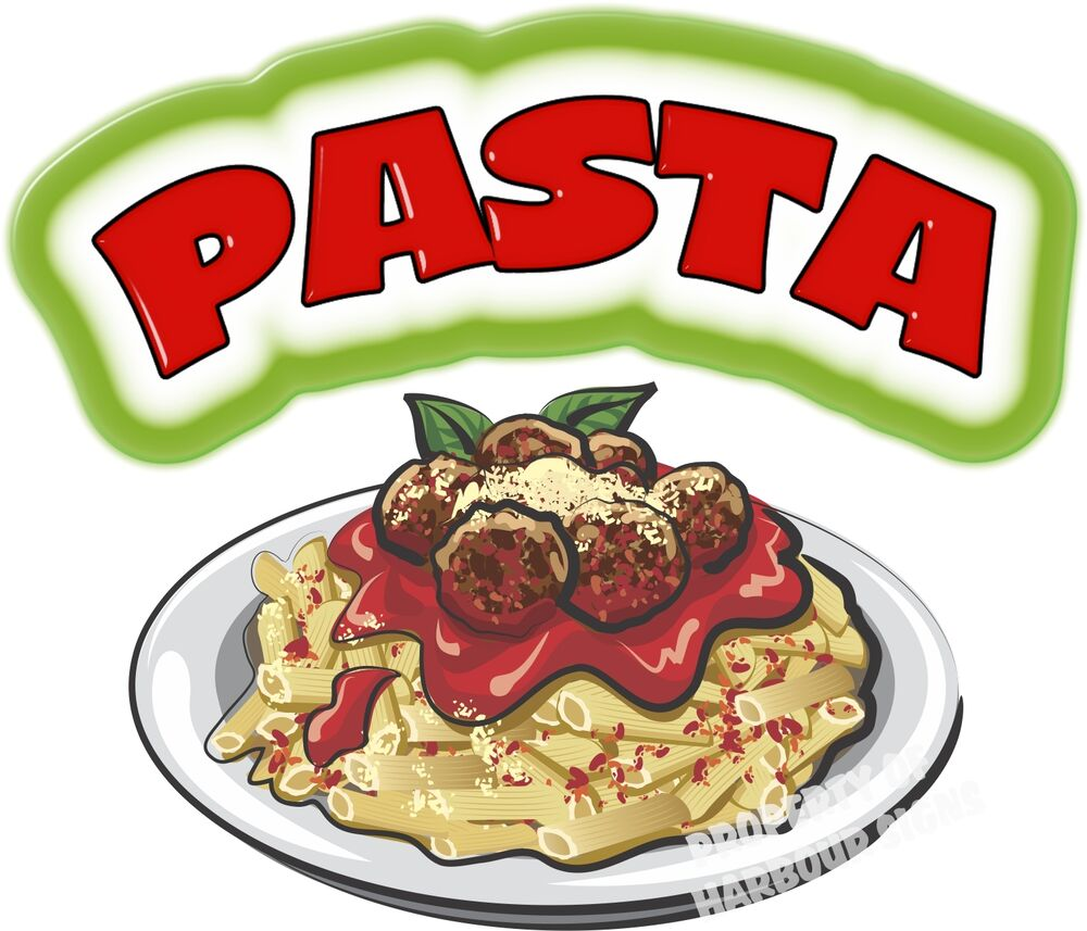 Pasta Decal 14 Quot Concession Restaurant Italian Food Truck