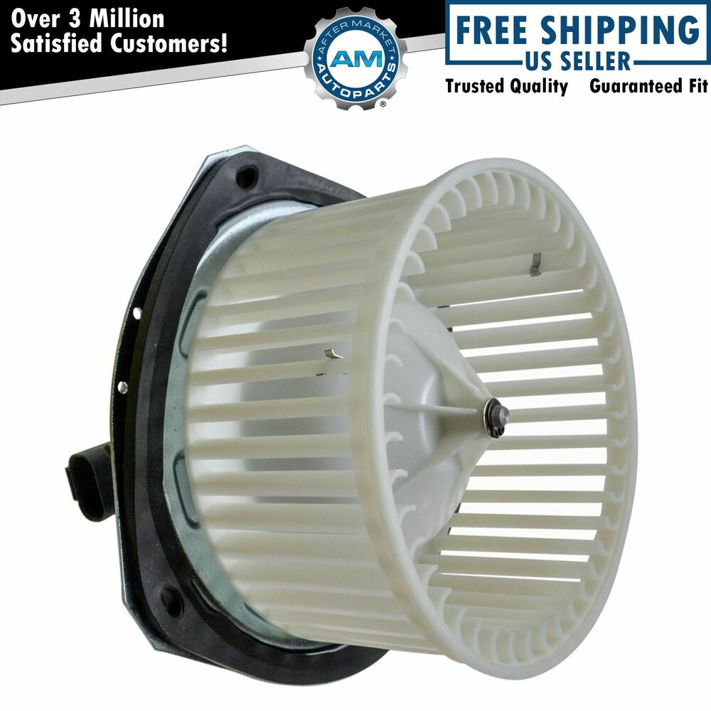 Heater Blower Motor w/ Fan Cage for Buick Chevy Pontiac ...