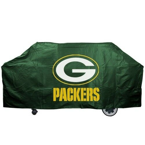 GREEN BAY PACKERS ECONOMY BARBEQUE BBQ GRILL COVER NFL FOOTBALL