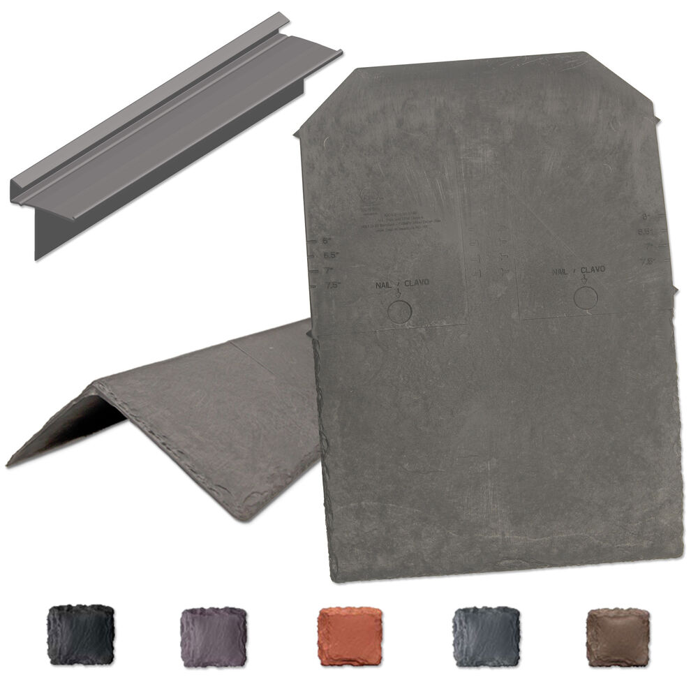 Tapco synthetic slate roof tile lightweight strong for How strong is acrylic glass