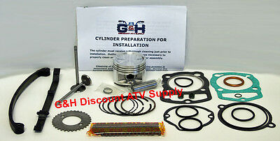 Honda Atc 185 185S Big Bore Engine Complete Top Rebuild Kit Machining Service