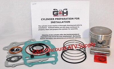 QUALITY Honda TRX 250 Fourtrax Cylinder Top End Rebuild Kit Machining Service