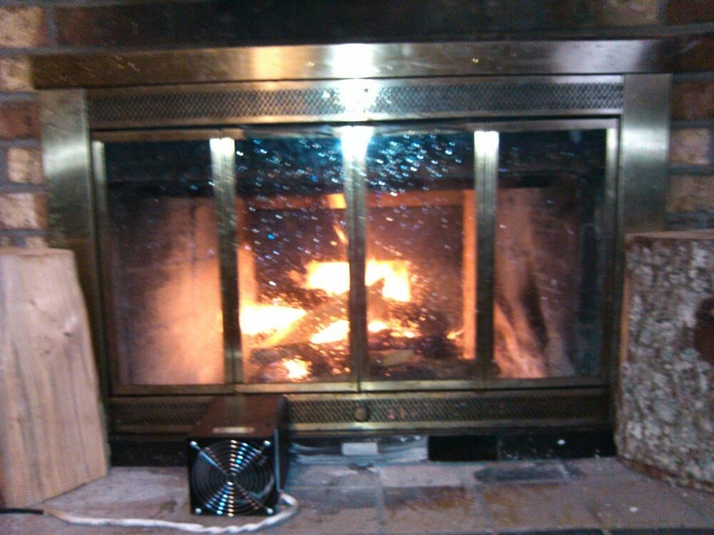 1q Fireplace Grate Heater Furnace Blower Tube Heat