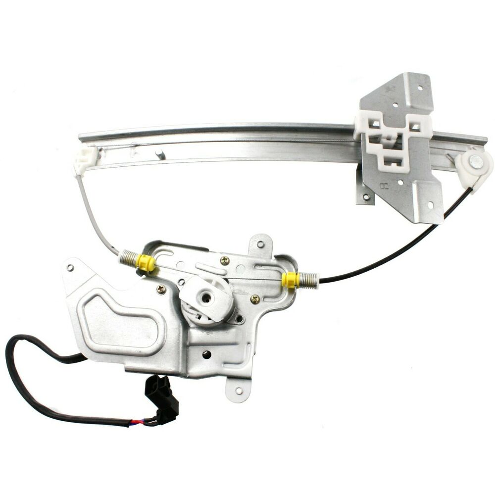 Power window regulator for 99 2005 pontiac grand am rear right side with motor ebay for 1999 pontiac grand am window regulator