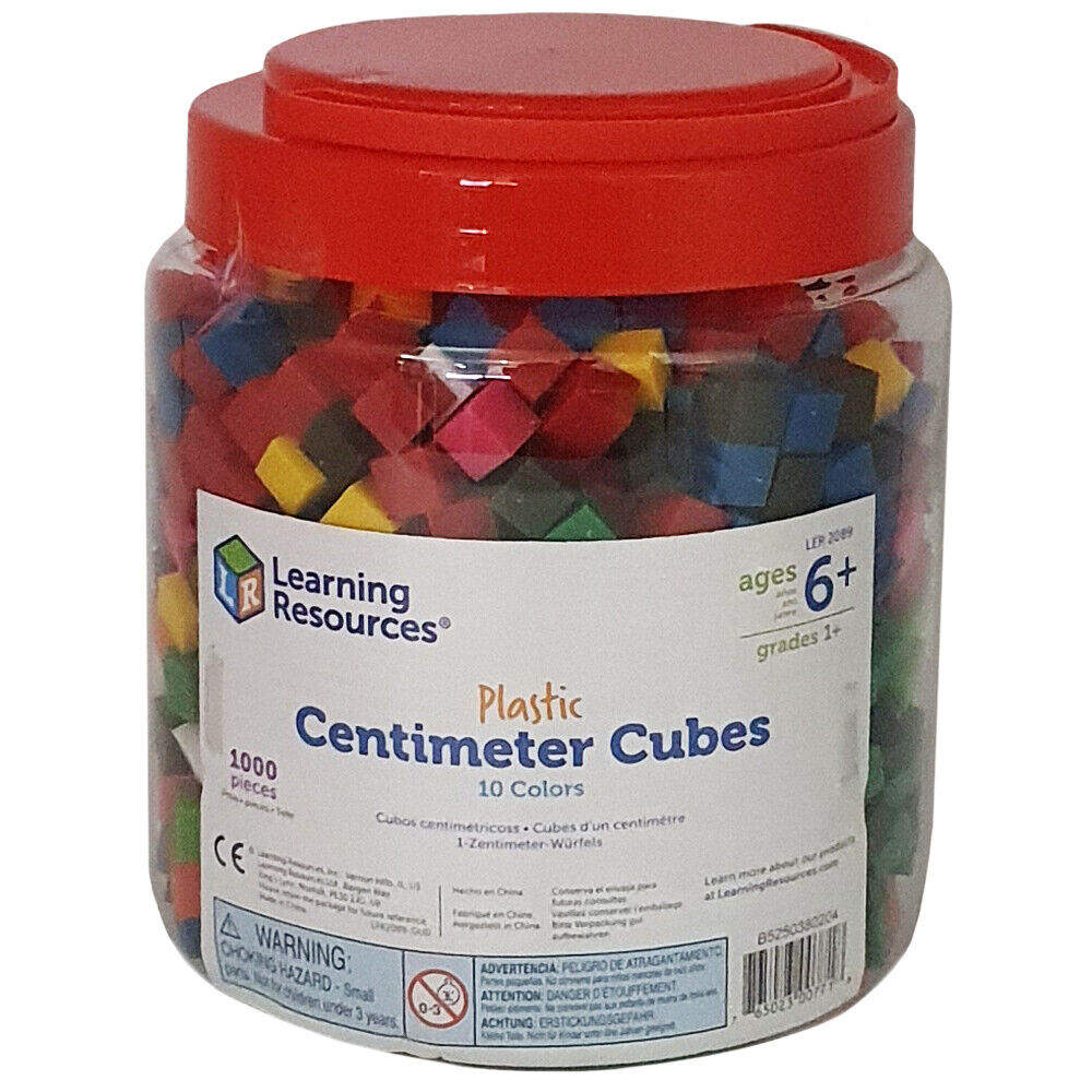 learning resources centimetre cubes set of 1000 ebay. Black Bedroom Furniture Sets. Home Design Ideas
