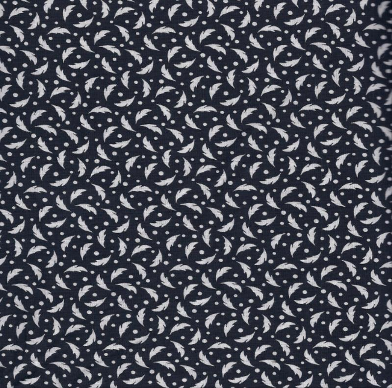 Quilt fabric 100 cotton black white print 0108313 by for Cotton fabric by the yard