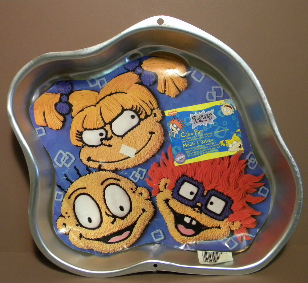 Wilton Rugrats Cake Pan Mold W Insert Angelica Chuckie