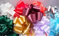 20 INSTANT PULL BOWS - 50mm -  CHOOSE YOUR OWN COLOURS