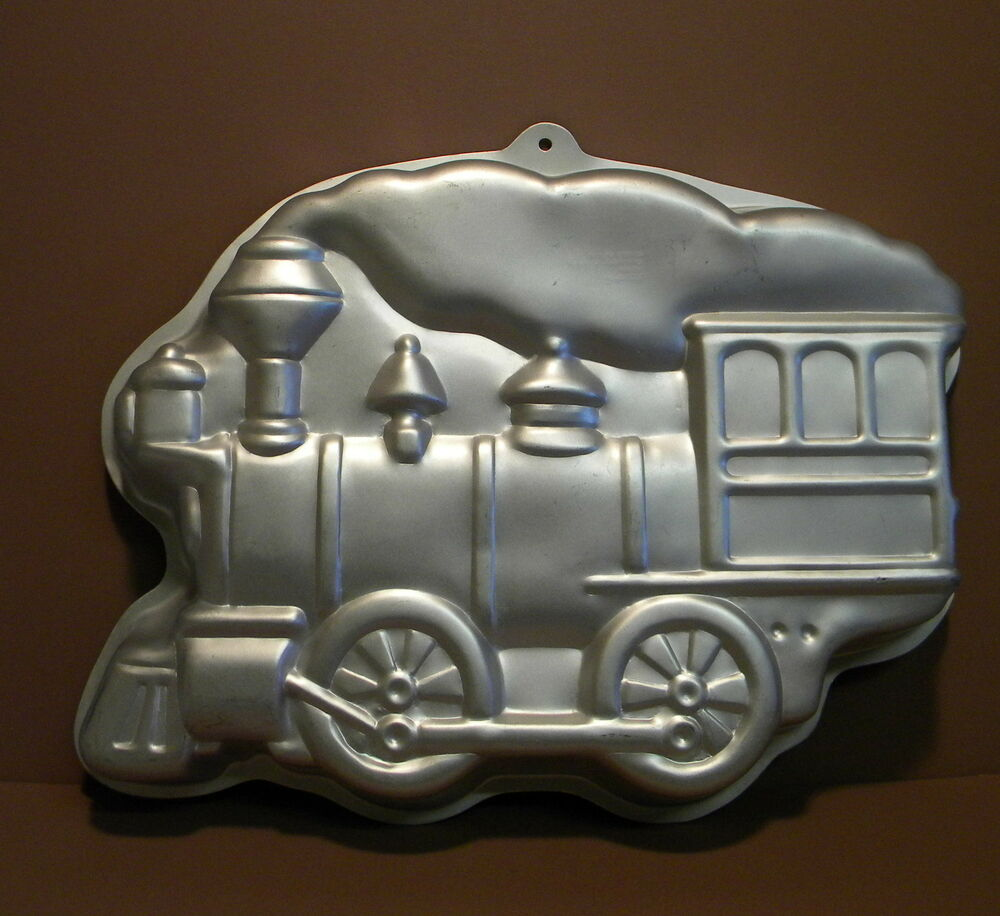 Wilton Big Steam Locomotive Large Train Cake Pan Mold Ebay