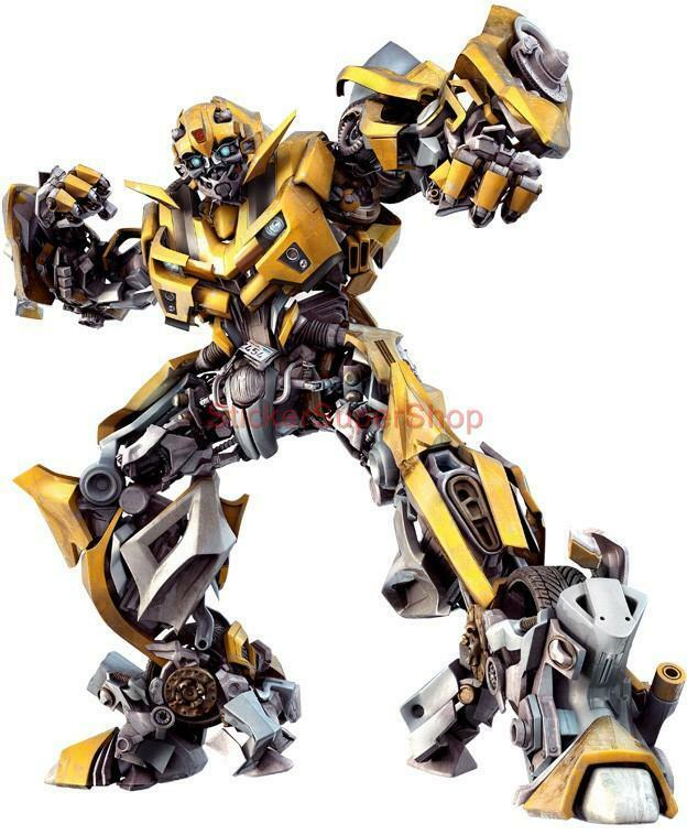 Choose Size Bumblebee Transformers Decal Removable Wall