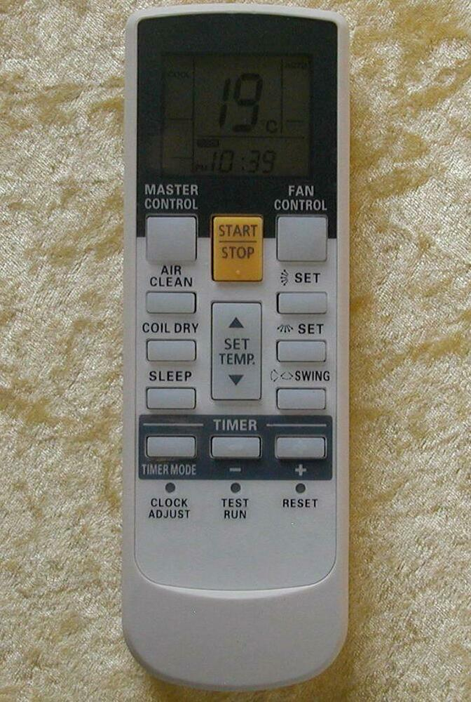 Replacement Remote Control Ar Ry4 For Fujitsu Air