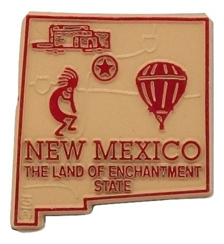 New mexico land of enchantment the gift of travel - New Mexico The Land Of Enchantment State Map Fridge Magnet