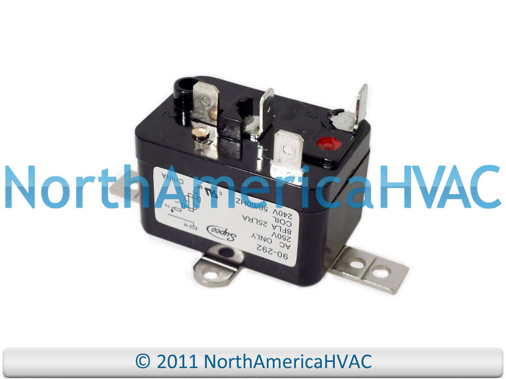 Blower Fan Relay : Packard furnace fan blower relay volt coil pr q