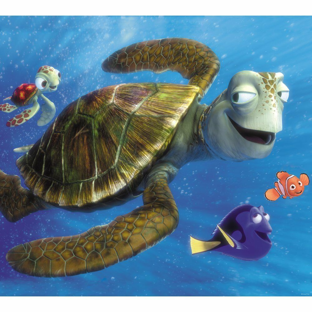 Disney Pixar Finding Nemo Turtle Quot Big And Little Dudes