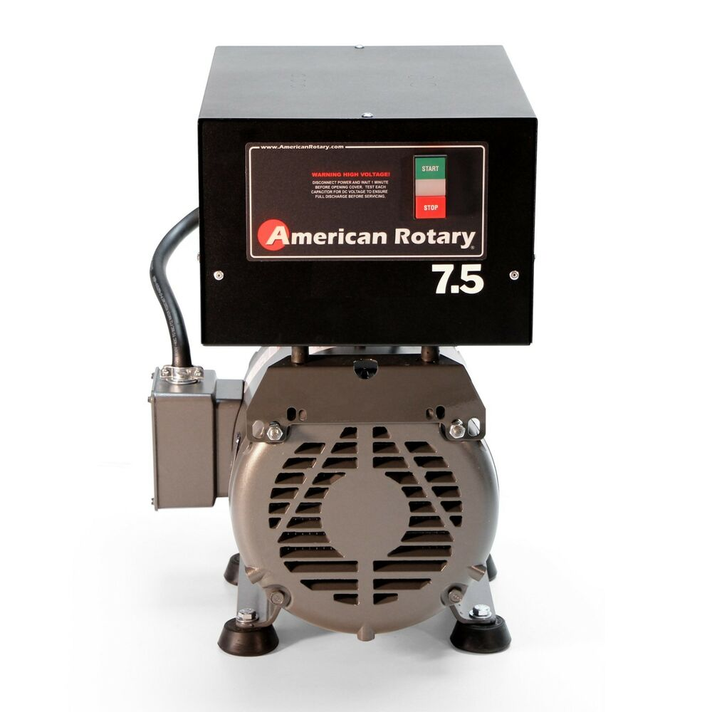 American Rotary Phase Converter AR7F Floor Unit 7