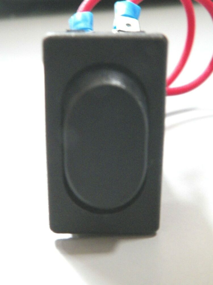 *NEW* RV ON/OFF/ON MOMENTARY ROCKER SWITCH BLACK 6 PRONG