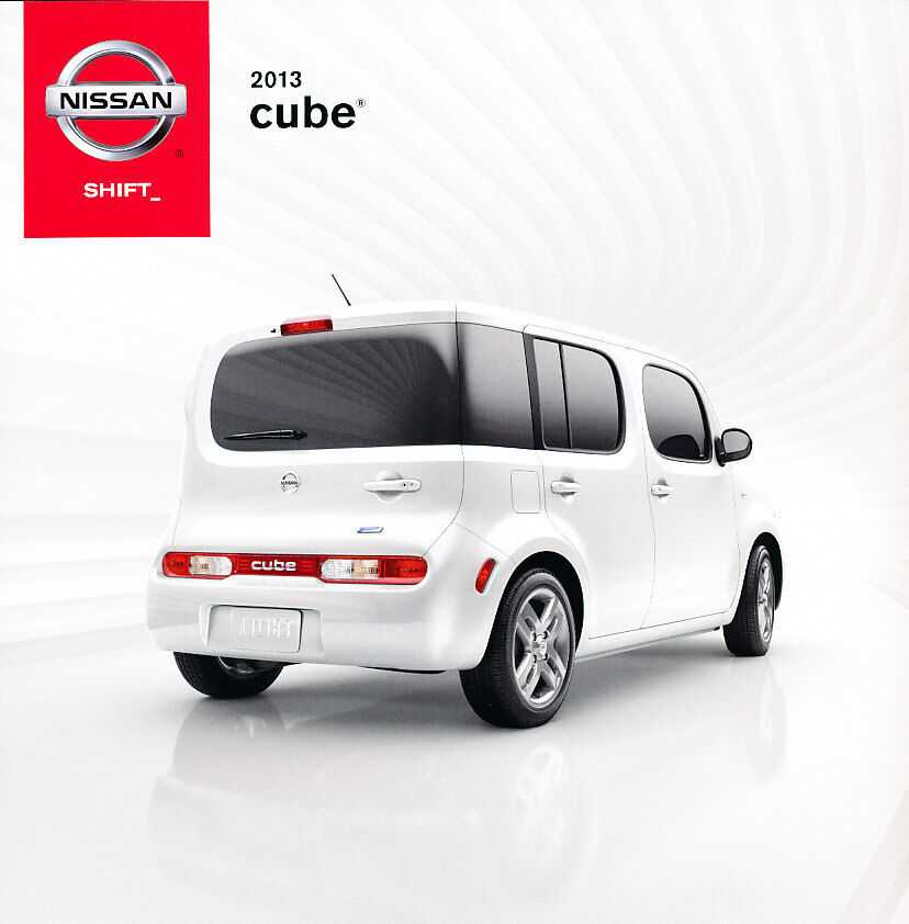 2013 nissan cube 34 page original sales brochure catalog ebay. Black Bedroom Furniture Sets. Home Design Ideas