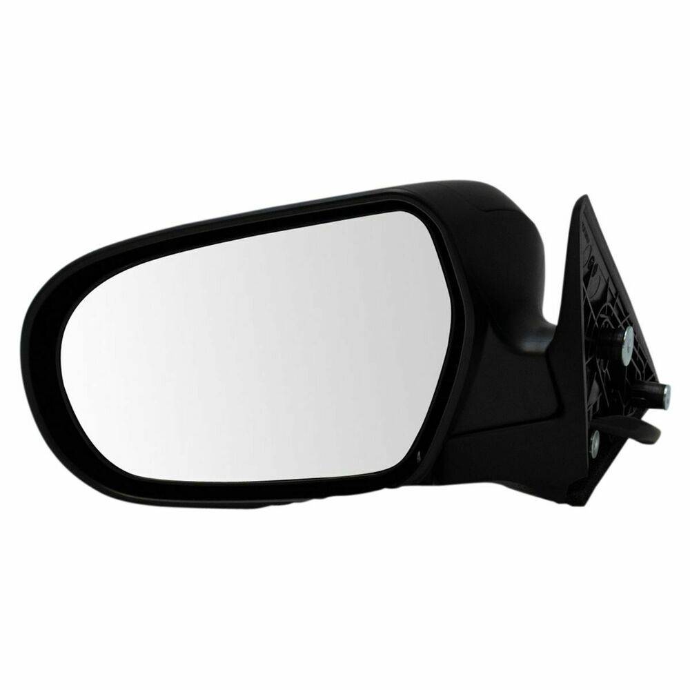 Power Heated Mirror Textured Driver Side Left Lh For 05