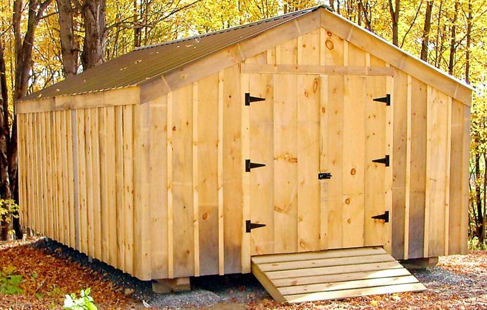 14x20 barn potting garden animal storage yard outdoor for Potting shed plans diy blueprints