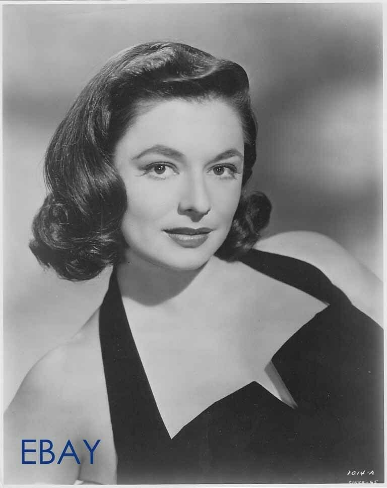 Ruth Roman Of Many Movies She Was In Strangers On A: Ruth Roman Sexy Lady VINTAGE Photo