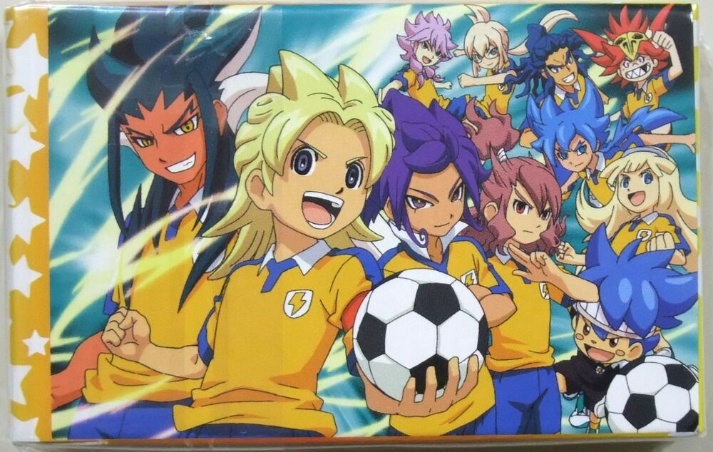 Inazuma Eleven Go Chrono Stone Playing Cards Deck Promo