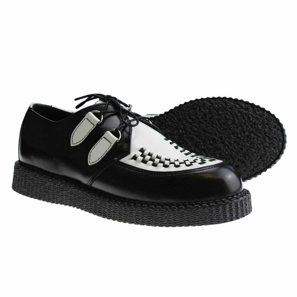 We carry a complete line of creeper shoes from TUK and Demonia. Our line ranges from creeper sneakers all the way to big stompy creeper boots. If you are looking for a great pair of creeper shoes or boots we are sure to have what you are looking for.