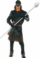 DELUXE MEDIEVAL MAN PERIOD COSTUME MENS FANCY DRESS MIDDLE AGES WARRIOR KNIGHT