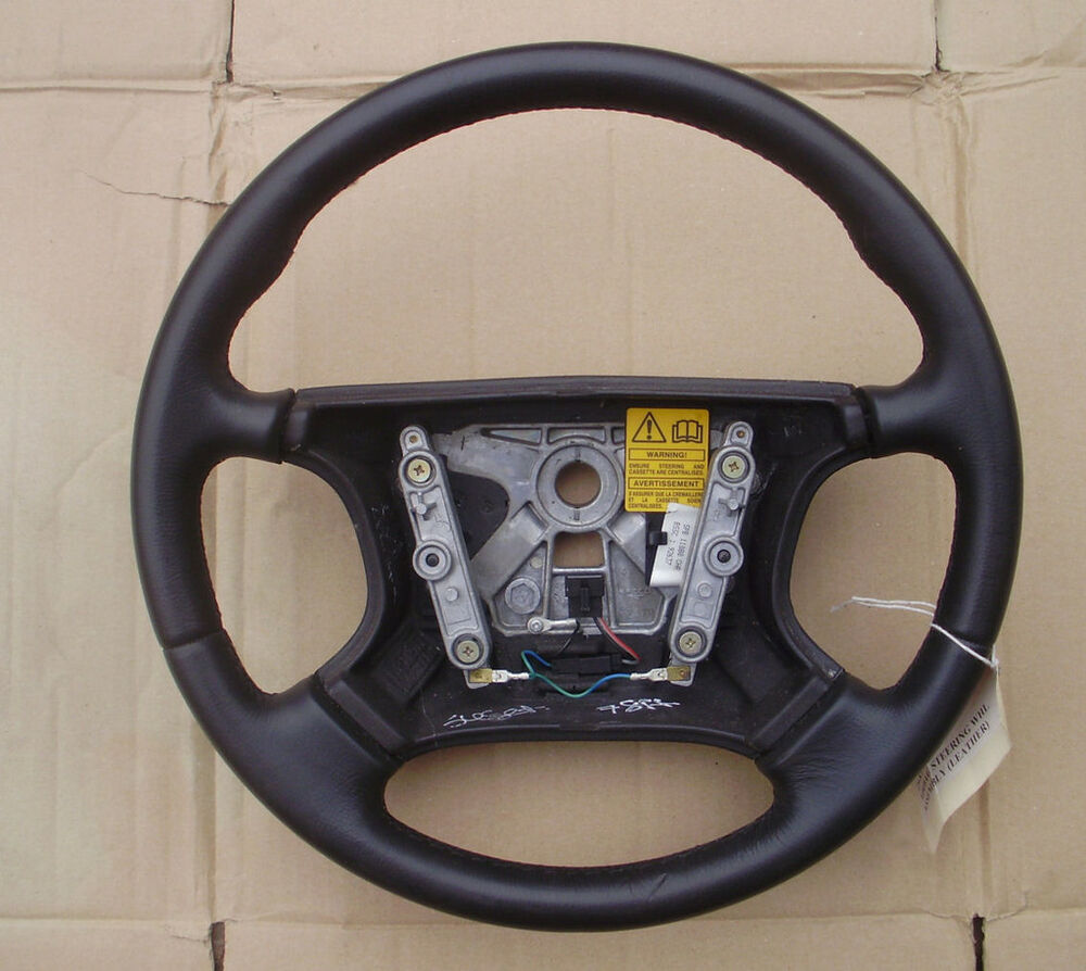 ASTON MARTIN DB7 STEERING WHEEL BLACK