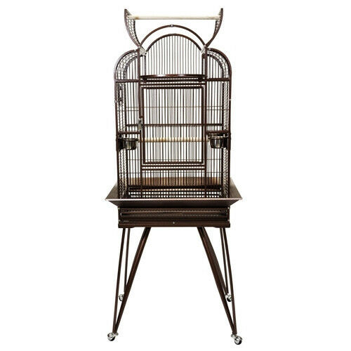 Bird Cage Toys : Kings cages slt triple top parrot bird cage toy toys
