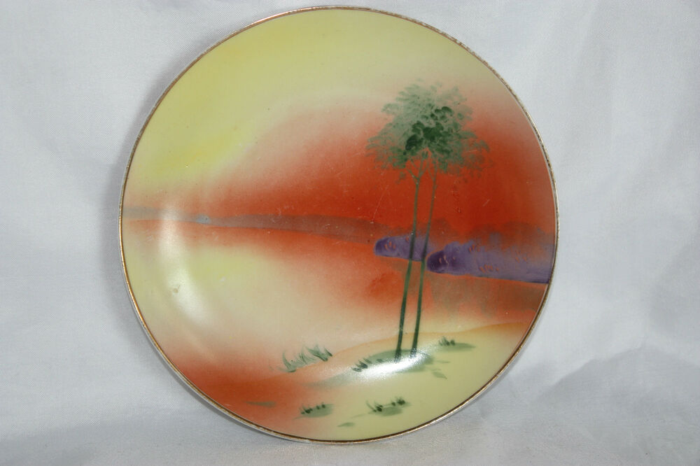 Beautiful Handpainted Nippon Collectible Antique Porcelain