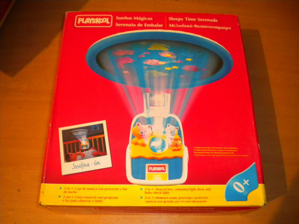 Playskool Musical Toys : Vintage playskool musical sleepy serenade night time