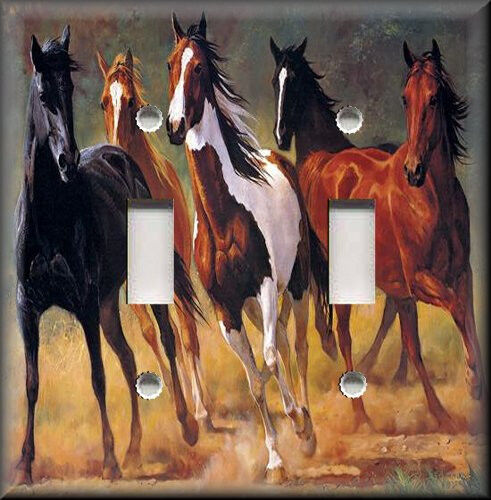 Horse Western Home D Cor Accessories Equestrian Themes: Light Switch Plate Cover