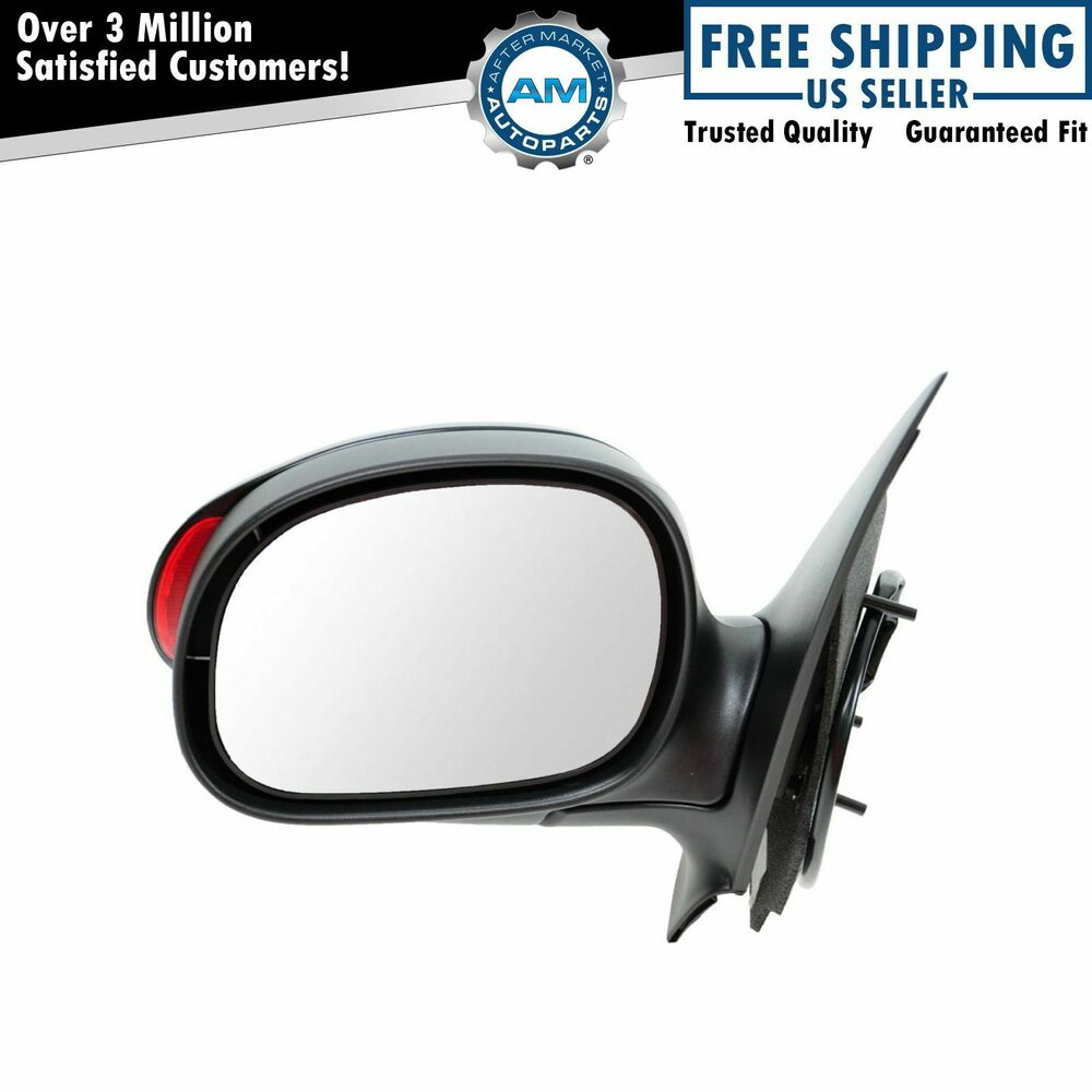 Mirror Power Exterior Signal PTM Driver Side Left LH For