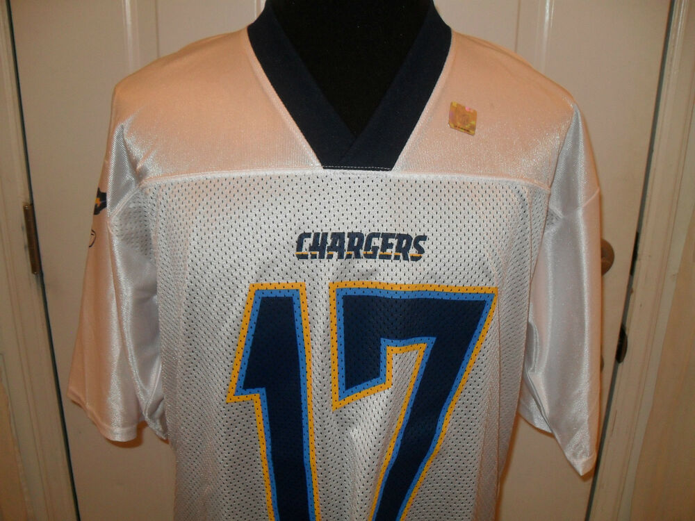 New Xl Philip Rivers 17 San Diego Chargers Reebok Jersey